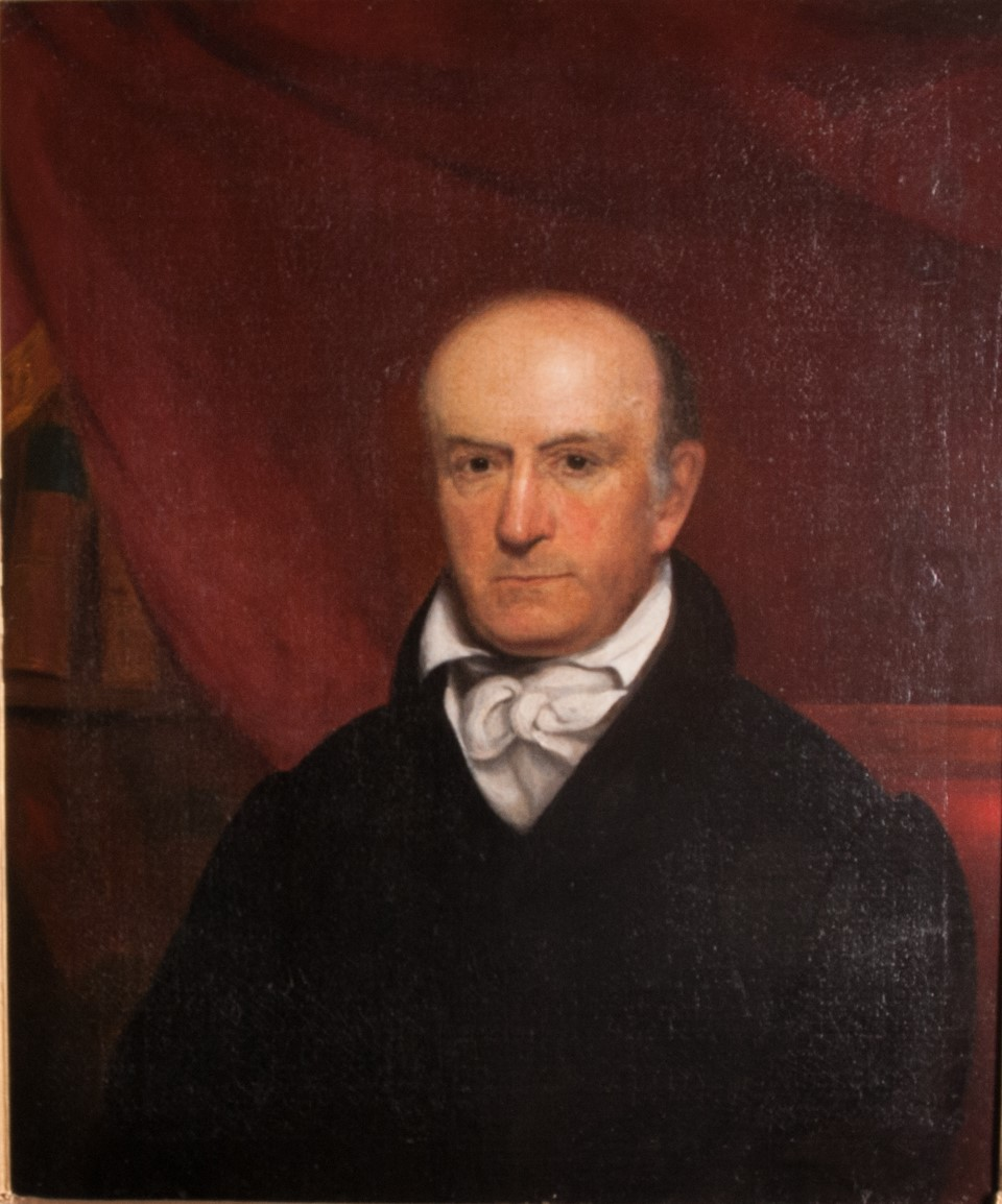 Thomas Cooper, by James DeVeaux, 1832 (Clarisophic Society Portrait)